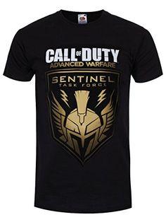 Call Of Duty, Advanced Warfare Black Gold Sentinel T-Shirt Size Xl (Electronic Games) [Importación Inglesa] #camiseta #realidadaumentada #ideas #regalo