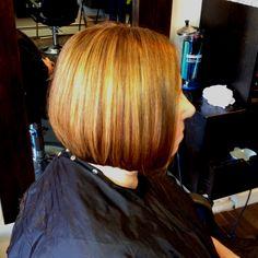 #hilightssalon brown blonde