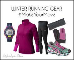 Winter Running Gear #MakeYourMove