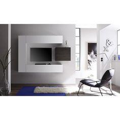 Design tv-wandmeubel Lemvig - Zwevende Tv-meubelen - Tv meubel   Zen Lifestyle