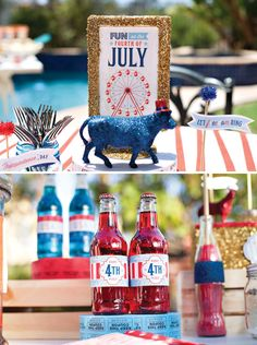 All American County Fair 4th of July Party with free printables