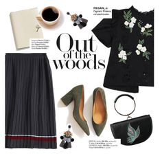 """""""Out of the woods"""" by punnky ❤ liked on Polyvore featuring Coach and Haute Hippie"""
