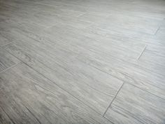 "light gray ceramic floor tiles for bathroom | ... Porcelain Tile ""Wood Look Tile"" is So Popular 