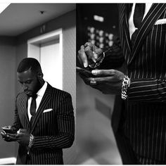 """A good friend labeled me an """"Afro Bohemian Snob"""" so I am running with it and indulging in all. Gorgeous Black Men, Handsome Black Men, Beautiful Men, Kofi Siriboe, Portrait Photography Men, Man Crush Everyday, Street Style, Black Boys, Well Dressed Men"""