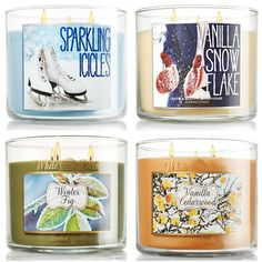 Bath Body Works Candle Collection Holiday 2013