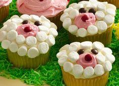 Lamb Cupcakes Recipe by Betty Crocker Recipes, via Flickr