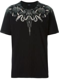 MARCELO BURLON COUNTY OF MILAN 'Moa' T-Shirt. #marceloburloncountyofmilan #cloth #t-shirt
