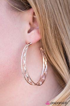 Chasing Daylight - Rose Gold Earrings
