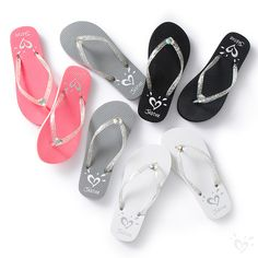 Get warm-weather ready with girls' flip flops from Justice. Find everything from beaded flip flops to vibrant colors & prints! Teen Fashion Outfits, Fashion Wear, Kids Fashion, Girl Outfits, Justice Shoes, Justice Clothing, Baby Doll Accessories, Summer Accessories, Baby Girl Shoes