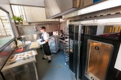Our Baking & Cooking Kitchens equipped with gas burners, gas ovens, bakers ovens, fridges, plenty of bench ... community kitchen rental info
