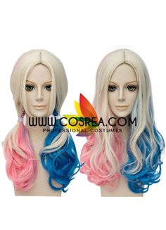 Wig DetailSuicide Squad Harley Extended Length Cosplay WigIncludes: Wig, Hair Net Important Information:Fitting - Maximum circumference of 55-60CMMaterial - Heat...