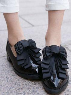 glorious ribbon shoes