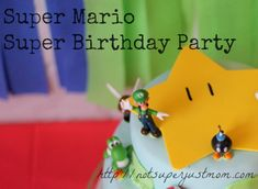 Super Mario Super Birthday Party, Not Super Just Mom - Wheee! #NintendoEnthused