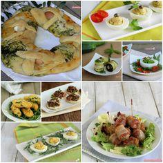 Antipasti per Pasqua Antipasto, Fresh Rolls, Pesto, Picnic, Menu, Ethnic Recipes, Blog, Food, Menu Board Design