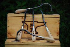 Weed Yanker Weeding Tool Hand Made Hand Forged Garden Tool
