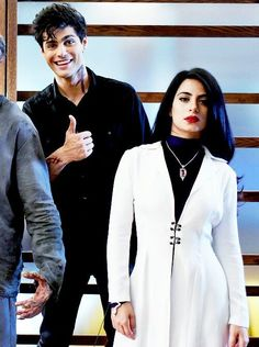 Isn't Matt adorable? And then there's Emeraude who's just badass.