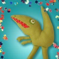 Auf ins Dinoabenteuer!  Zeichne dein Kuscheltier...    http://fiaba.de/dinosaurus-rex-draw-your-cuddle/