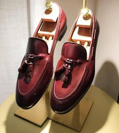 SUPERGLAMOUROUS | Elegant.   Discover Philippe Nappa Brown Loafers...