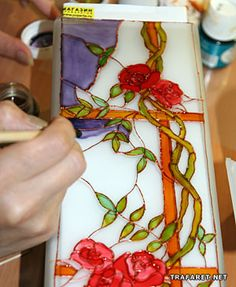 Website Is In Russian Master Class Stained Glass Painting