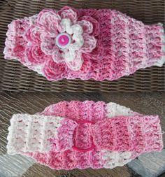 Classic Stretch Headband By Jennifer - Free Crochet Pattern - Adult And Child Sizes - (crochetpatternsbyjennifer.blogspot)