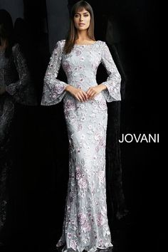 Designer Prom, Formal Evening & Special Occasion Dresses - Couture Candy – Page 7 Evening Gowns With Sleeves, Evening Dresses With Sleeves, Evening Dresses Online, Mother Of Groom Dresses, Mothers Dresses, Jovani Dresses, Mode Hijab, Occasion Dresses, Bridal Dresses