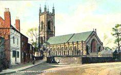 Postcard of Walton Church liverpool