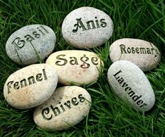 Natural Garden Markers