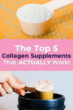 Do Collagen Supplements Really Work? 🤷 We tested the most popular brands and discovered the best, so you don't have to! Find out which ones made our list! Health And Wellbeing, Health And Nutrition, Health Fitness, Healthy Aging, Healthy Tips, Natural Health Remedies, Natural Medicine, Natural Healing, Beauty Care