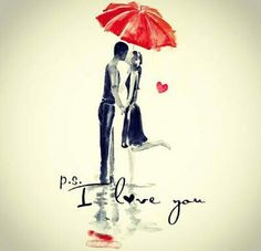 Image in Love ❤❤💋💋💋 collection by on We Heart It I Do Love You, My Love, Cute Love Images, Illustrations, Love Notes, Love Painting, Hopeless Romantic, Graphic Design Illustration, Cartoon Drawings