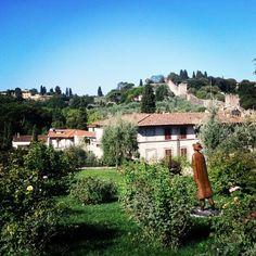 Folon, Giardino delle rose, Florence, Italy
