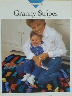 Granny Stripes Afghan pattern  Vanna's  720 by CarolsCreations77, $2.00