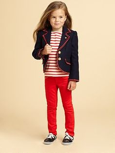 Shop blazers for girls at Lands' End to find the perfect girls' blazer for your child, including classic girls navy blazers and little girls blazer jackets.