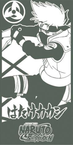 Naruto Shippuden Kakashi Towel