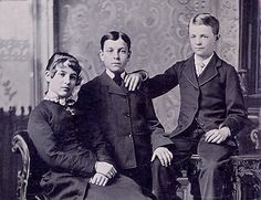Victorian Brothers and Sister