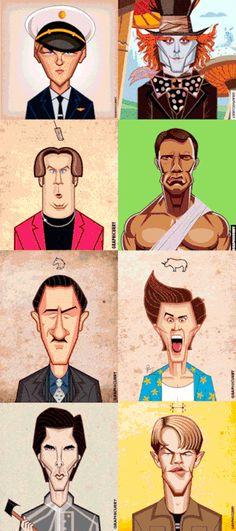 Actores y sus papeles mas celebres