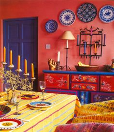 #excll #дизайнинтерьера #решения И, наконец-то, Мексика. Один из самых красивых уголков планеты с очень красочной и яркой культурой. Это не могло не отразиться на национальных интерьерах этой страны: