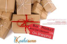 Hurry Up!!! 10% OFF  Buy any two product and Get 10% discount on Shipping charge. www.kashvisarees.com #kashvisaree #anandsaree #discount #offers #shipping #amazon #flipkart #snapdeal #voonik #shopclues #saree #fashion #womenfashion #ethnic #shopping #kurti #shrugs #designersaree #printedsaree #ethnicwear #womensfashion #Georgettesaree #onlineshopping #ecommerce #indiansaree #newarrivals