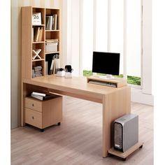 分体书柜电脑桌 台式 家用 办公桌 书柜 书桌 新款特价-tmall.com天猫