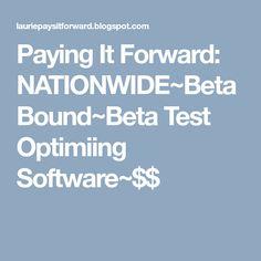 Paying It Forward: NATIONWIDE~BetaBound~Ladies Beta Test an