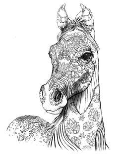 die 14 besten bilder von gratis ausmalbilder pferde | ausmalbilder pferde, kostenlose