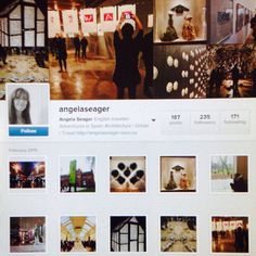Angela Seager Instagram Page