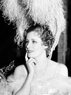 Irene Dunne on the set of The Secret of Madame Blanche, 1933