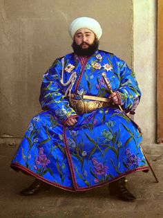 Local fashion: Traditional costume of the republics of Central Asia