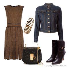 Chocolate! Veja post completo em www.carolinedemolin.com.br #personalstylist #personalstylistbh #consultoriademoda #consultoriadeimagem #imagem #identidade #moda#fashion #fashionblogger #estilo #style #trend #tendencias #looks #lookdodia #lookoftheday #shoes #bags #carinaduek #burberrybrit #chloe #uza #hectoralbertazzi www.carolinedemolin.com.br