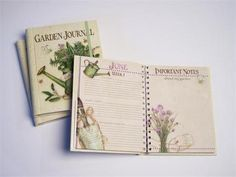 Garden journal...I could really use this ...