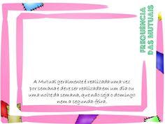 As Tontas Vão Ao Céu: Organização das Moças - Material para Treinamento ...