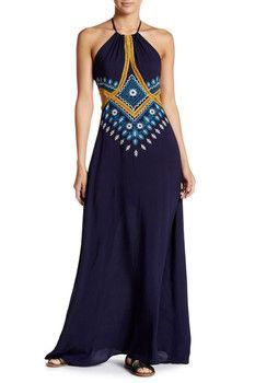 Meghan LA Alexandria Rose Maxi Dress