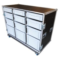 12 Drawer Production Case