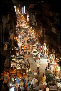 INDIA - Night in Delhi