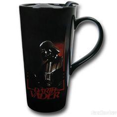 Images of Star Wars Vader Heat Reactive Travel Mug